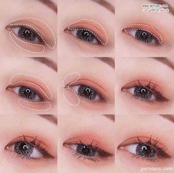 آرایش چشم کره ای