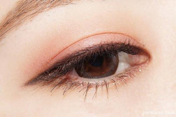 آرایش چشم کره ای و ژاپنی با ایده های بسیار زیبا و جذاب