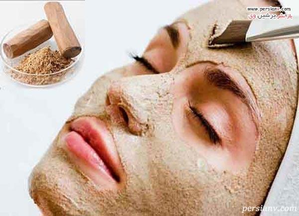 ماسک روشن کننده پوست قبل از مهمانی