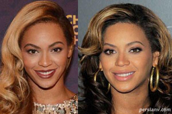 موی مشکی جذابتره یا بلوند با مقایسه زنان معروف با هر دو رنگ مو