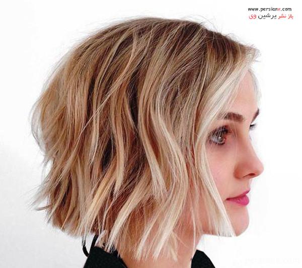 مدل مو کوتاه زنانه باب