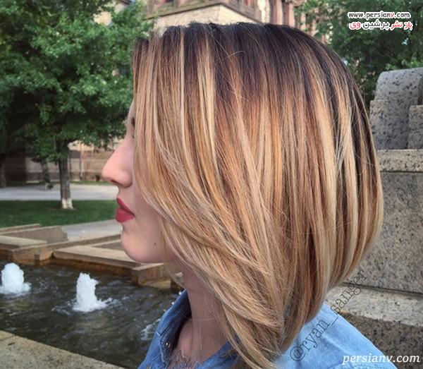 رنگ مو برای مدل مو کوتاه