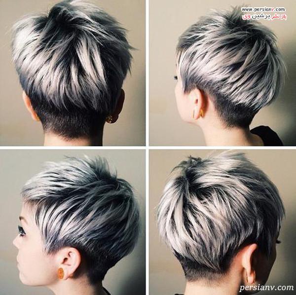 مدل مو کوتاه مش