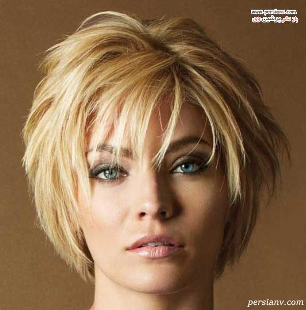 استایل مدل مو کوتاه زنانه