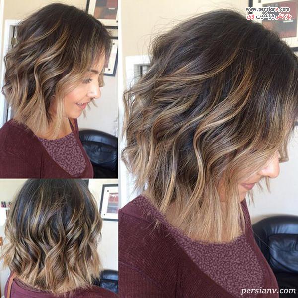 مدل مو کوتاه زنانه زیبا