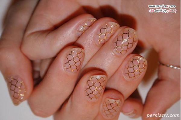 دیزاین طلایی لانه زنبوری
