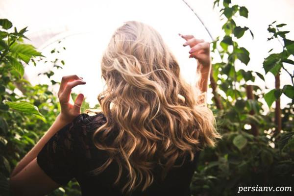 هایلایت مو بدون دکلره و با مواد طبیعی در منزل