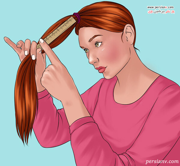 روش کوتاهی برای موهای بدون لایه