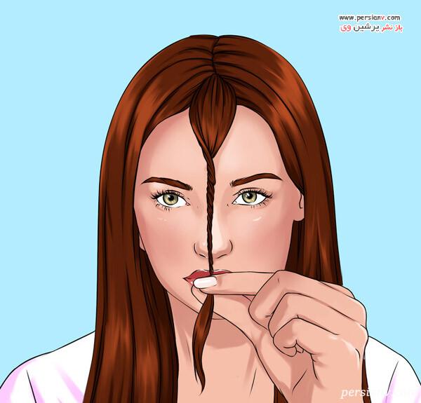 روش کوتاهی برای موهای لایه لایه