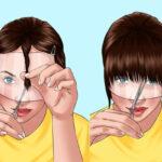 آموزش کوتاهی موی بلند در خانه با راهنمای مرحله به مرحله و اصولی