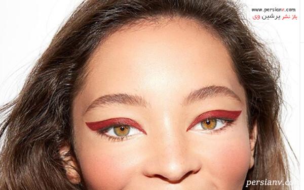 خط چشم قرمز