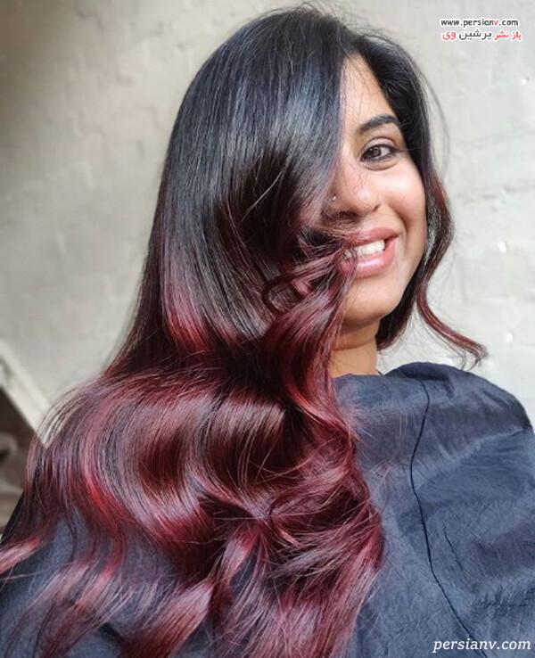 ایده مدل رنگ مو