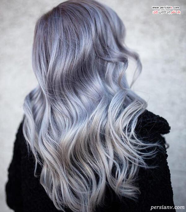 مدل رنگ مو شیک