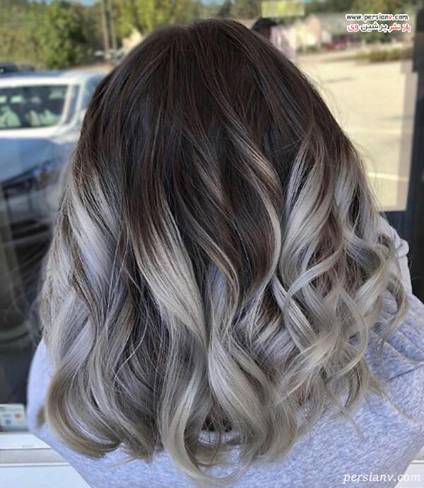 تکنیک محبوب رنگ مو