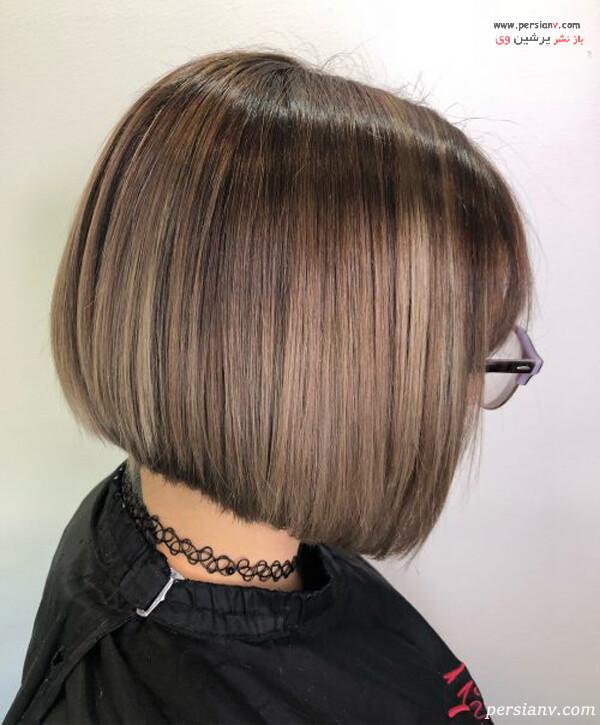 بالیاژ برای موهای کوتاه