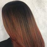 بالیاژ روی موی مشکی با انواع ترکیب رنگ های جذاب