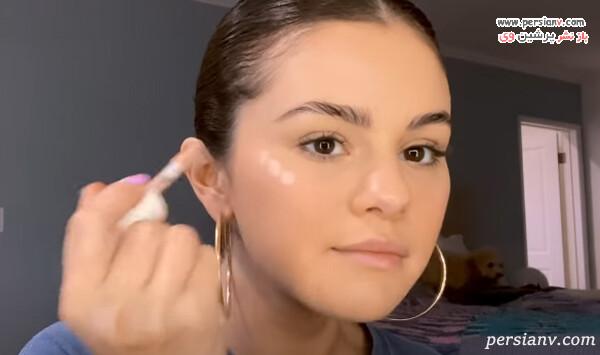 مدل آرایش سلنا گومز