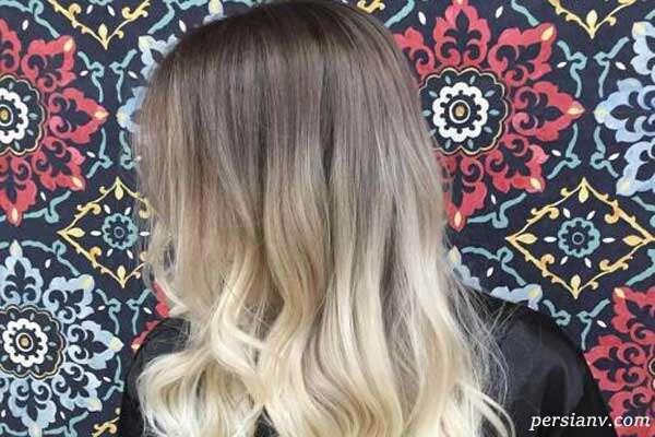 انواع رنگ مو آمبره در طیف های رنگی مختلف